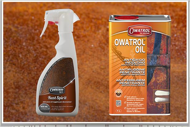 Rust spirit & Owatrol Oil