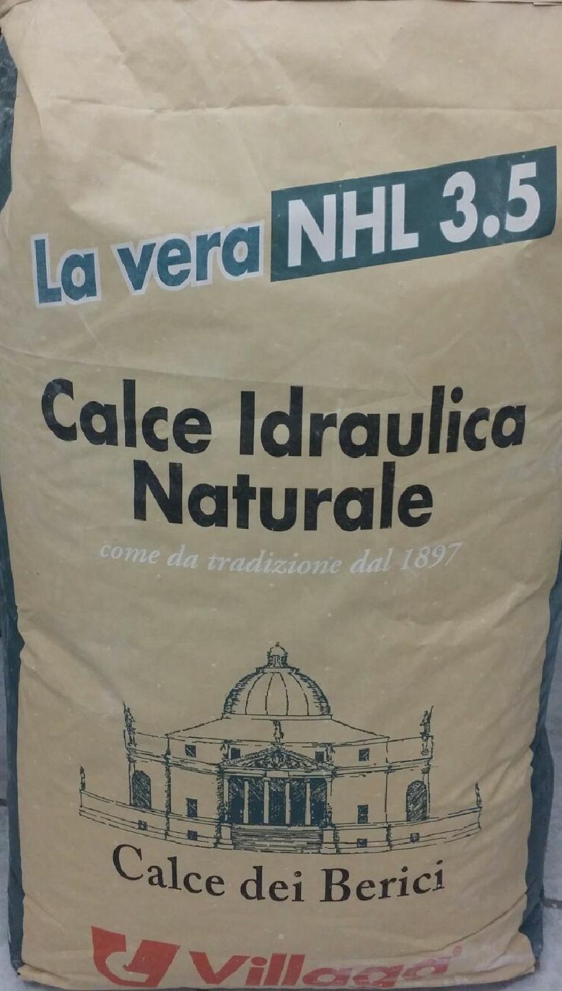 villaga CALCE DEI BERICI Calce Idraulica Naturale NHL 3,5 Kg 25