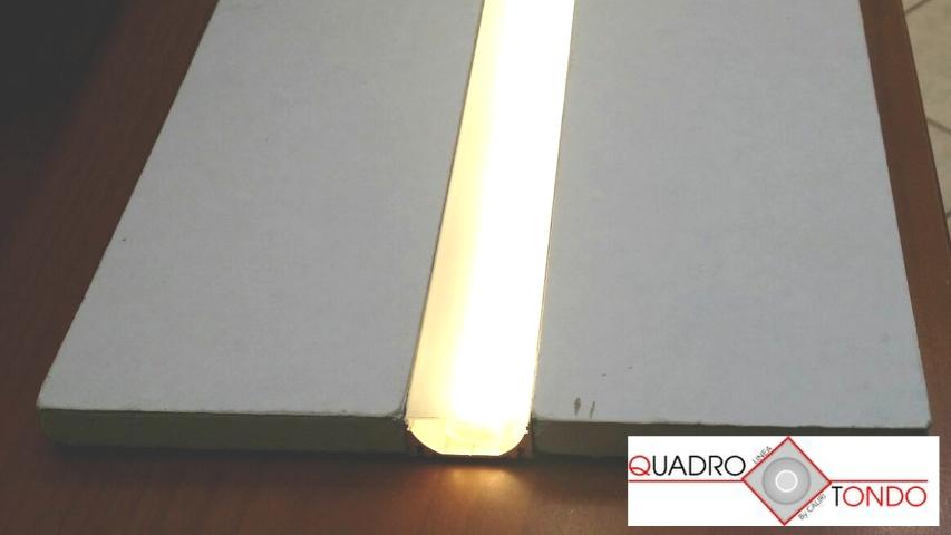 Profilo Line Led Cartongesso E Alluminio In Barre Da Mt 2 Shop